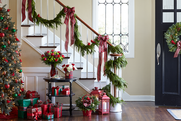 plantas para decorar la casa en Navidad