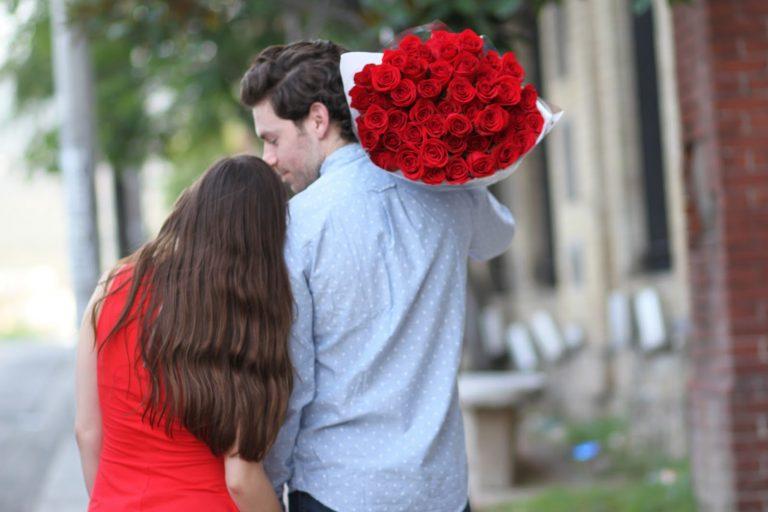 regalar rosas a domicilio en San Valentín