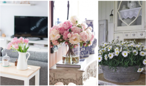 inundar tu casa con flores