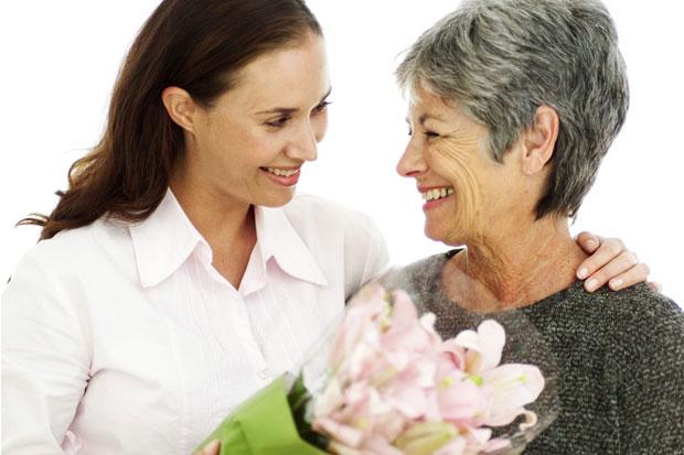 regalar flores para el Día de la Madre