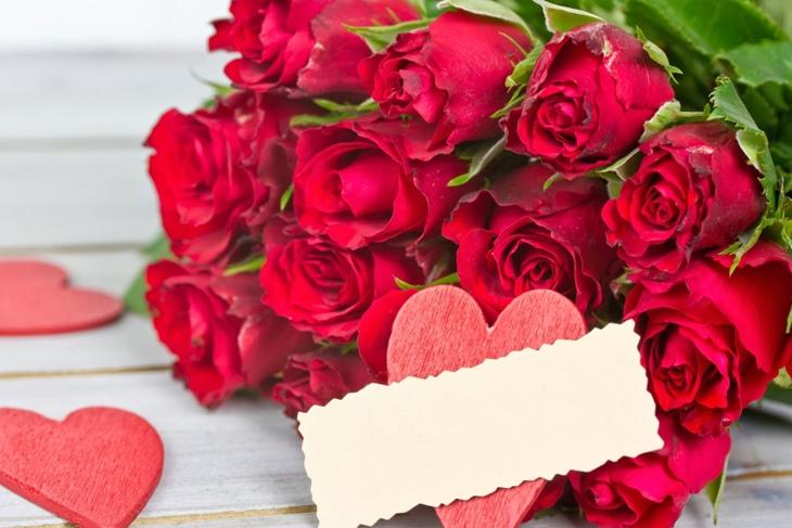 flores para San Valentín