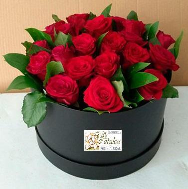 Caja de rosas Leonor