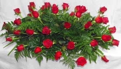 Almohadón de rosas Margot