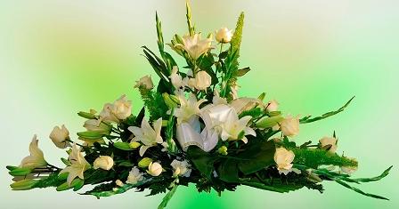 Almohadón de flores Mariana