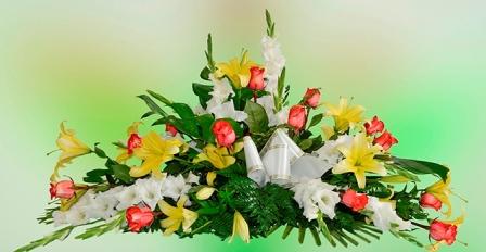 Almohadón de flores Marie