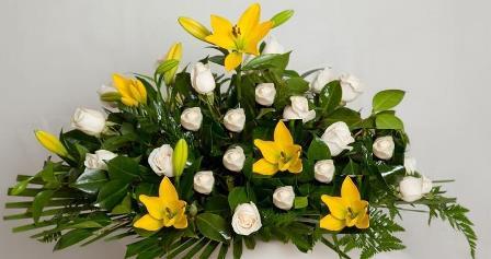 Almohadón de flores Marilina