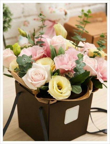 Caja de flores Leonarda