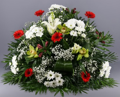 Centro de flores Marie