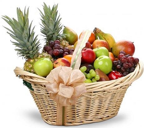 Cesta de frutas Lucía