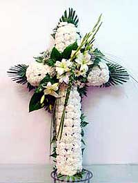 Cruz de flores 6