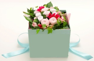 Caja de flores Neoneda