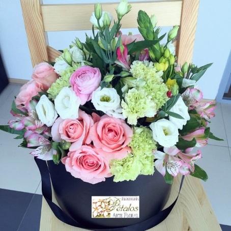 Caja de flores Leonora