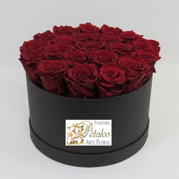 Caja de rosas Leila