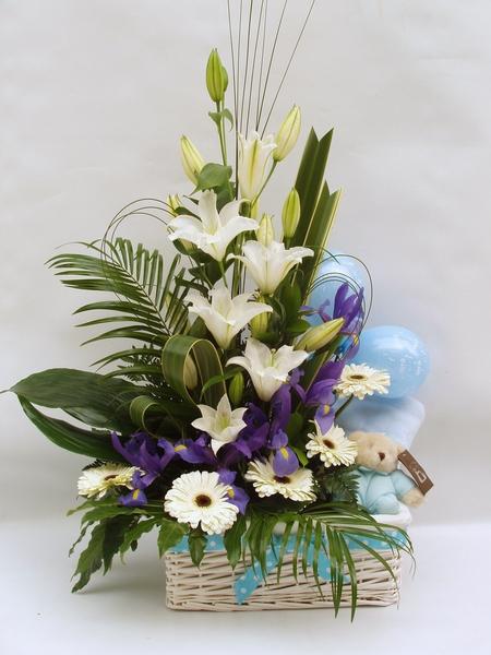 Centro de flores Coli