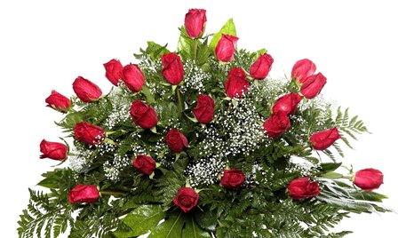 Almohadón de rosas Justina