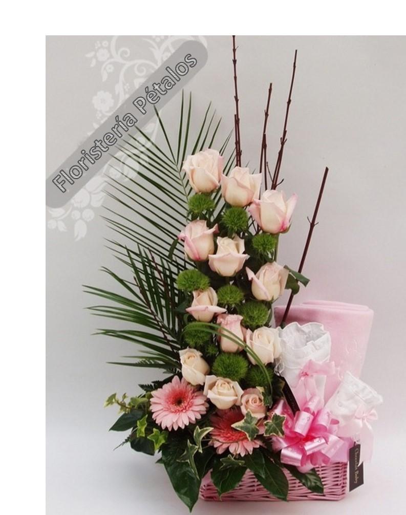 Centro de flores Gretel