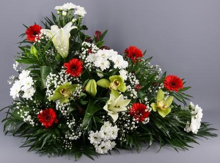Centro de flores Virginia