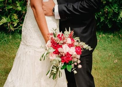 Ramo de novia y dama de honor