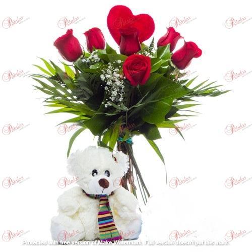 Bouquet de rosas Jockey