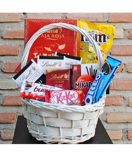 Cesta de chocolates Eduardo