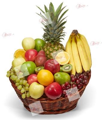 Cesta de frutas Lourdes