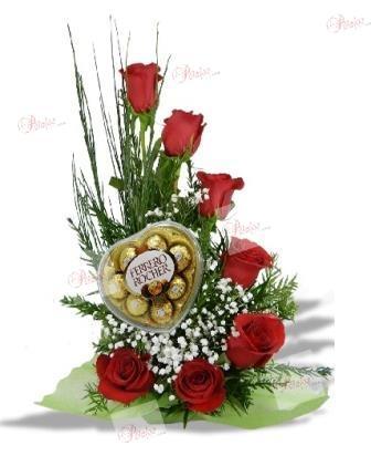 Centro de rosas Miguel