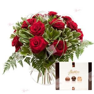 Ramo de rosas José Ramón