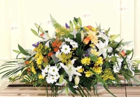 Almohadón de flores Marylin