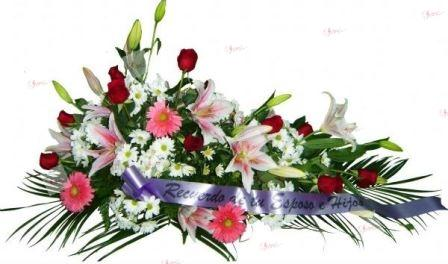 Almohadón de flores Marta