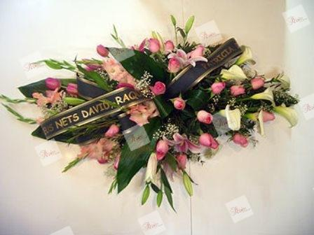 Almohadón de flores Marion