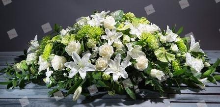Almohadón de flores Marina
