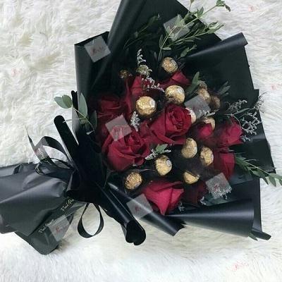 Ramo de rosas Saúl