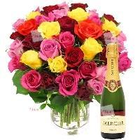 Bouquet de rosas Asterix
