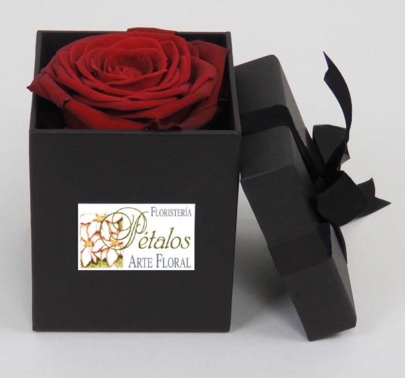 Caja de rosas Libot